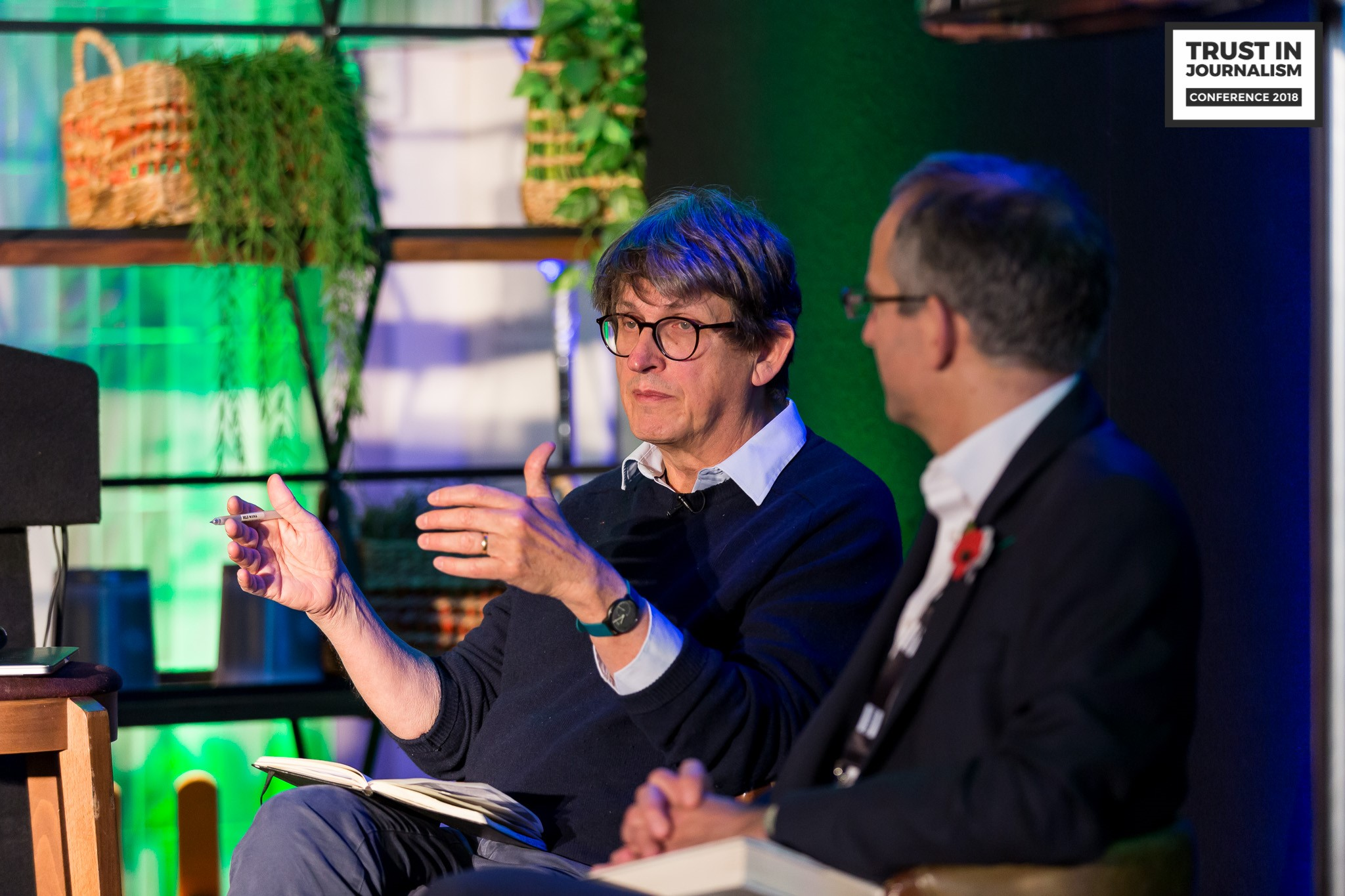Alan Rusbridger - The Guardian - Breaking News - Jonathan Heawood - IMPRESS Trust in Journalism Conference 2018