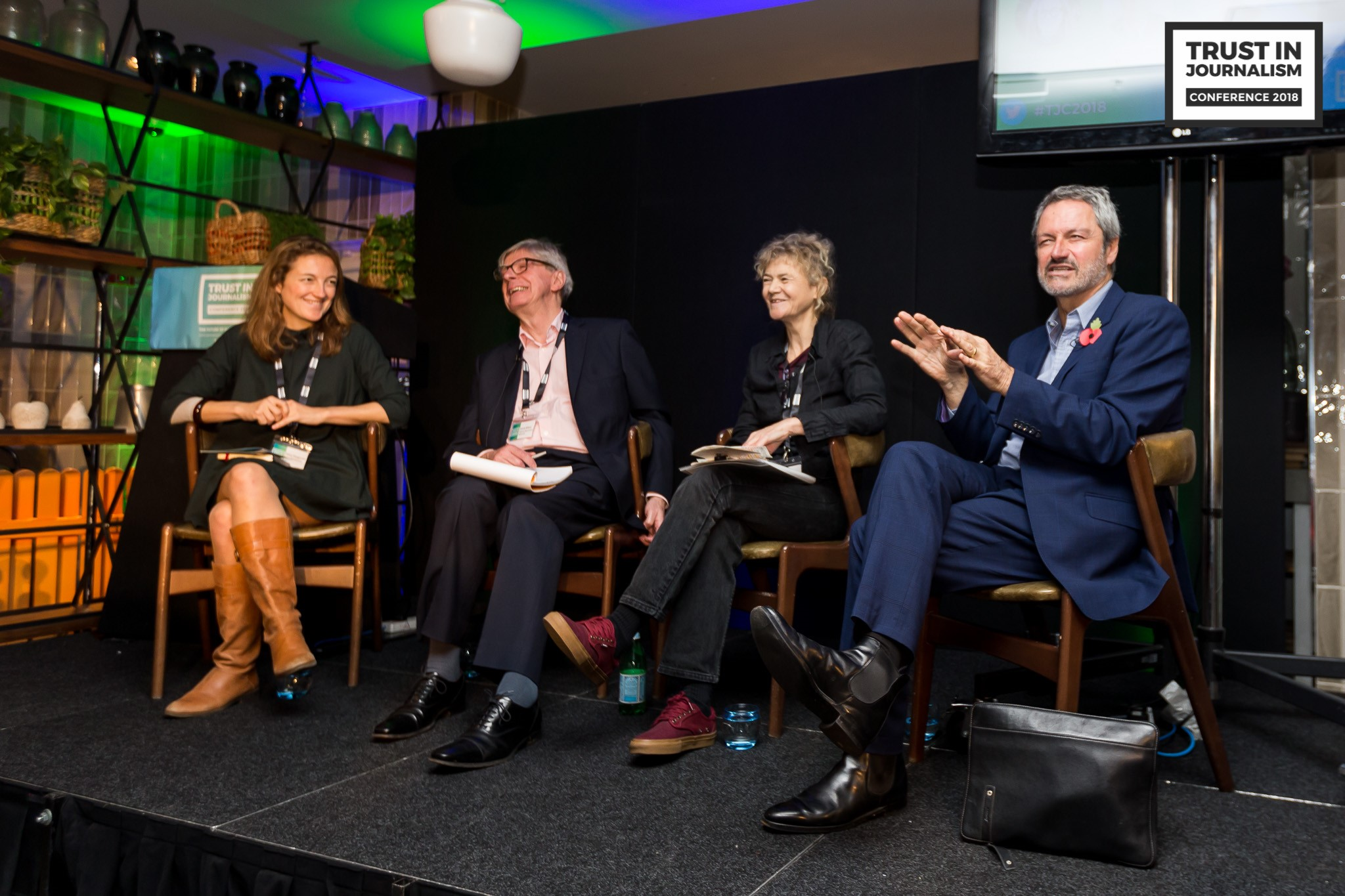 Mary Fitzgerald - Chris Elliott - Vanessa Baird - Gavin Esler BBC - IMPRESS Trust in Journalism Conference 2018